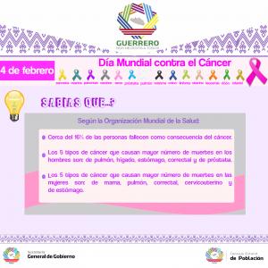 info día mundial contra el cáncer